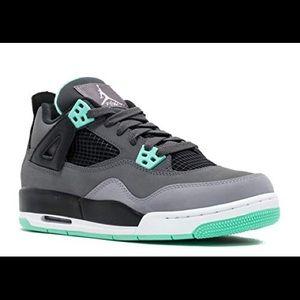 Jordan Green Glow Sneakers